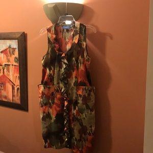 Simply Vera Wang silk dress